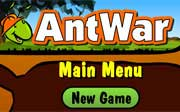 Miniclip game Ant war