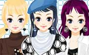 Miniclip game Bluestarsdressup