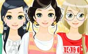 Miniclip game Casualheartsdressup