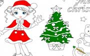 Miniclip game Christmas colors
