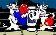 Miniclip game Cow fighter kids games