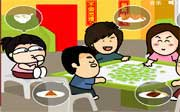 Miniclip game Dinnerparty