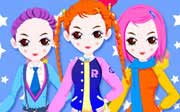 Miniclip game Dress up 001