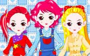 Miniclip game Dress up 003