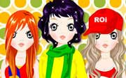 Miniclip game Dress up 050
