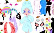 Miniclip game Dress up 074