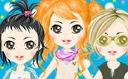 Miniclip game Dress up 093