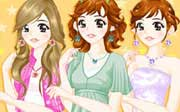 Miniclip game Dress up 099