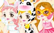 Miniclip game Dress up 117