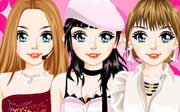 Miniclip game Dress up 222