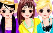 Miniclip game Dress up 268