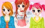 Miniclip game Dress up 287