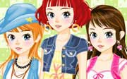 Miniclip game Dress up 304