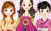 Miniclip game Dress up 352