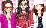 Miniclip game Dress up 355