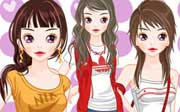 Miniclip game Dress up 416
