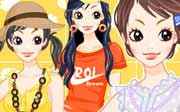 Miniclip game Dress up 443