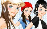 Miniclip game Dress up 445