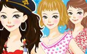 Miniclip game Dress up 451