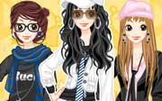 Miniclip game Dress up 465