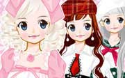 Miniclip game Dress up 527