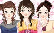 Miniclip game Dress up 543
