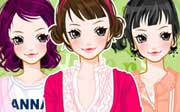 Miniclip game Dress up 550
