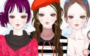 Miniclip game Dress up 554