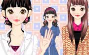 Miniclip game Dress up 567