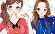 Miniclip game Dress up 659