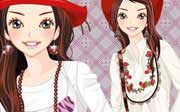 Miniclip game Dress up 663