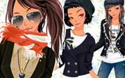 Miniclip game Dress up 687