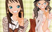 Miniclip game Dress up 695