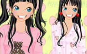 Miniclip game Dress up 696