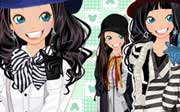 Miniclip game Dress up 698