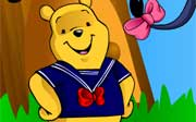 Miniclip game Dress up winnie the pooh