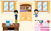 Miniclip game Homedecoration4