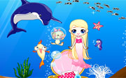 Miniclip game Home of mermaid