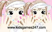 Miniclip game Make up games 010