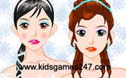 Miniclip game Make up games 016