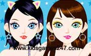 Miniclip game Make up games 024