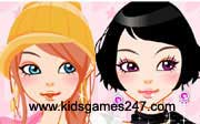 Miniclip game Make up games 025