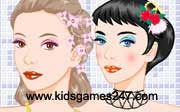 Miniclip game Make up games 027