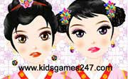 Miniclip game Make up games 028