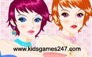 Miniclip game Make up games 033
