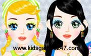 Miniclip game Make up games 038