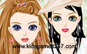 Miniclip game Make up games 039