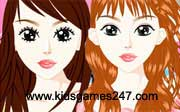 Miniclip game Make up games 041