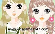 Miniclip game Make up games 043