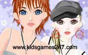 Miniclip game Make up games 045